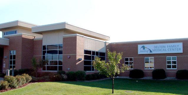 Exterior of Delton Family Medical Center